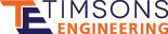 Timsons Engineering Logo - support for Timsons Ltd press users in the UK and rest of world